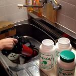 台所ロータスと薬品