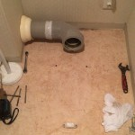トイレをすべて外した所
