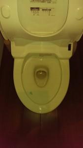 トイレの詰まりが直った所