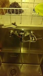 古い台所蛇口