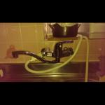 新しい台所蛇口