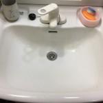 洗面の詰まりが直った所