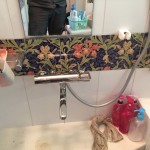 新しい浴室蛇口