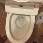 トイレが詰まりが直ったところ