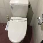 新しいトイレ