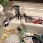 新しい食洗用蛇口