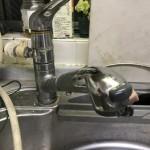 古い食洗機用キッチン蛇口
