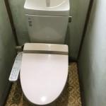 新しい密結トイレ
