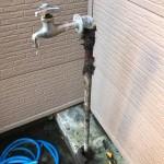 古い屋外水栓